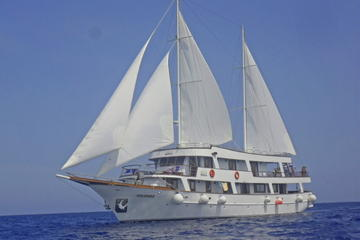 7 Night Independent Gulet Cruise All Inclusive from Split to Middle Dalmatia