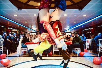 Dinner Cruise Turkish Night Show (Alcoholic Menu)