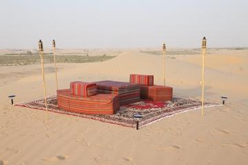 Abu Dhabi Private Romantic Dune Dinner with Emirati Guide