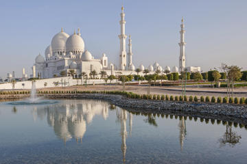 Abu Dhabi Sightseeing Tour: Sheik Zayed Mosque, Heritage Village and Gold Souk