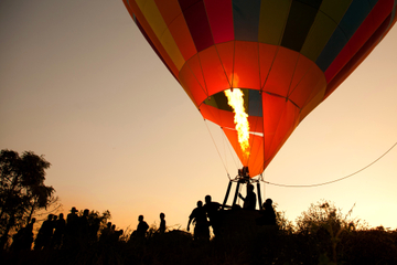 Adirondacks Hot Air Balloon Flight with Optional Private Upgrade