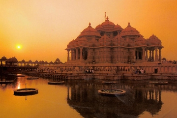 Akshardham Temple Evening Tour with Musical Fountain Show