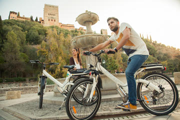 Albayzin and Sacromonte Electric Bike Tour in Granada