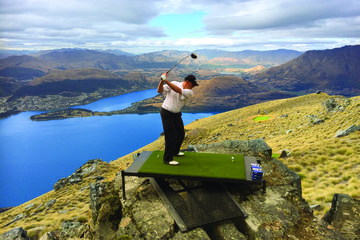 Altitude Golf by Helicopter from Queenstown