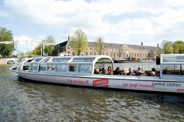 Amsterdam Canal Boat Hop-On Hop-Off Tour with Rijksmuseum Ticket