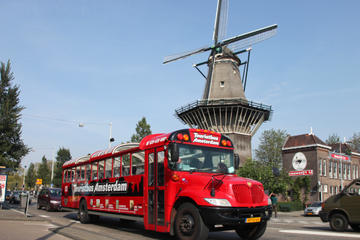 Amsterdam City Tour: Sightseeing Bus Ride, Gassan Diamond Factory Tour and Optional Cruise