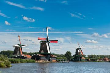 Amsterdam Super Saver: City Walking Tour plus Zaanse Schans Windmills, Marken and Volendam Half-Day Trip