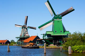 Amsterdam Super Saver: Zaanse Schans Windmills, Delft and The Hague Day Trip