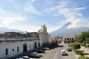 Antigua and Surrounding Villages Full Day Tour with Lunch from Antigua
