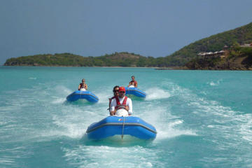 Antigua Reef Riders Self-Drive Boat and Snorkeling