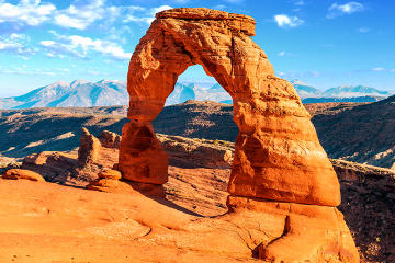 Arches National Park Flight and Jeep Tour