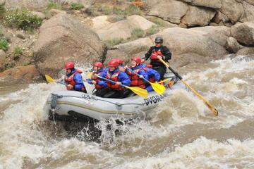 Arkansas River Rafting Through Browns Canyon