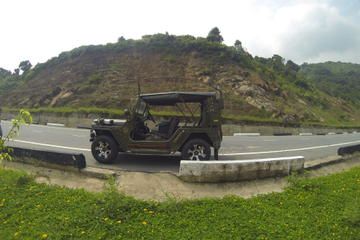 Arrival Transfer from Da Nang Airport to Hotel in Army Jeep