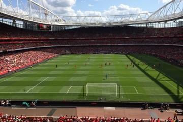 Arsenal Football Match at Emirates Stadium