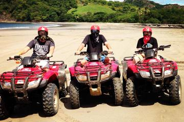 ATV Beach Adventure Tour in Tamarindo and Flamingo