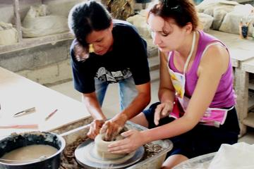 Bali Ceramics Workshop and Tanah Lot Sunset Half-Day Tour