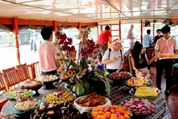 Bangkok Rice Barge Canal Tour with optional Private Transfer