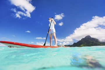 Barbados Stand-Up Paddleboard Lesson and Tour with Optional Snorkeling