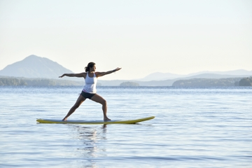 Barbados Stand-Up Paddleboard Yoga Class