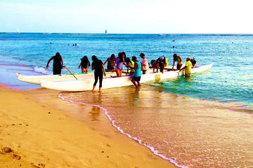 Beaches of Waikiki: A Journey on an Outrigger Canoe