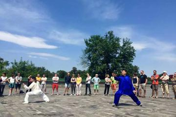 Beijing Full-Day Culture Tour: Tai Chi Class at Temple of Heaven, Forbidden City,Tiananmen Square