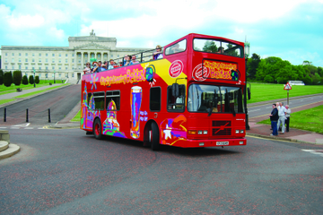 Belfast City Hop-on Hop-off Tour