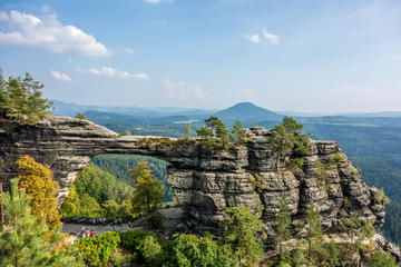 Bohemian Switzerland National Park Small-Group Tour from Prague