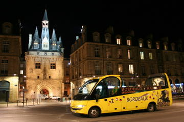Bordeaux Night Tour by Open-Top Bus