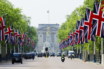 Buckingham Palace and Westminster Highlights Walking Tour in London
