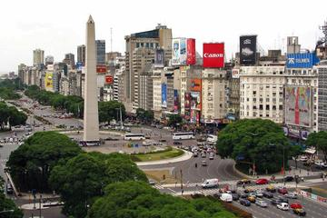 Buenos Aires Small-Group Walking Tour Including Teatro Colon, Casa Rosada and Obelisco