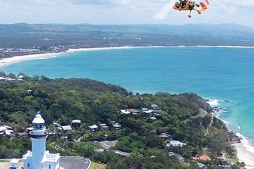 Byron Bay Gyrocopter Flight and Bangalow Tour Including BBQ Lunch