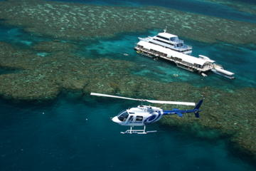 Cairns Shore Excursion: Great Barrier Reef and Rainforest Helicopter Tours