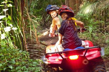 Cancun Combo Tour: ATV and Zipline with Cenote Swim