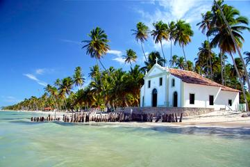 Carneiros Beach and St. Benedict Church from Recife