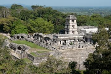 Chiapas Combo Tour: Palenque Mayan Ruins, Agua Azul and Misol-Ha Waterfall