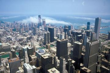 Chicago Air & Water Show from Willis Tower's Skydeck