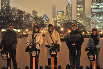 Chicago Holiday Christmas Lights Tour by Segway