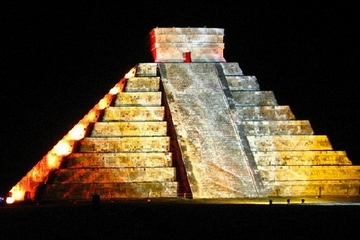 Chichen Itza Night Show with VIP Seating from Merida