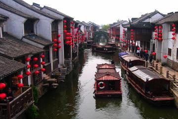 Classic Suzhou and Zhouzhuang Water Town Tour from Shanghai