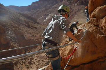Climb the first and single Via Ferrata in Morocco from Tinghir