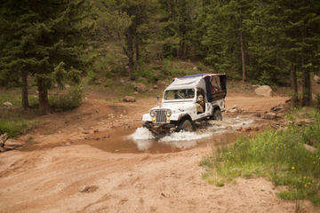 Colorado Springs High Country Jeep Tour