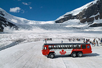 Best Columbia Icefield Tour including the Glacier Skywalk from Banff