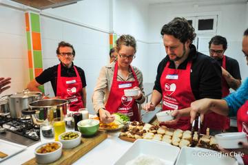 Cooking Class Plus Historic Downtown Santiago and Markets Tour
