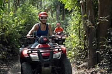 Cozumel ATV Jungle and Snorkel Combo