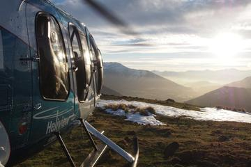 Cromwell Basin Flight with Alpine Snow Landing