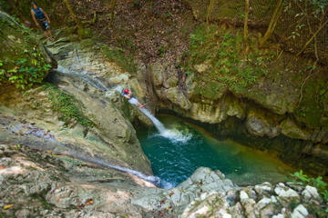 Damajagua Waterfalls Adventure from Puerto Plata