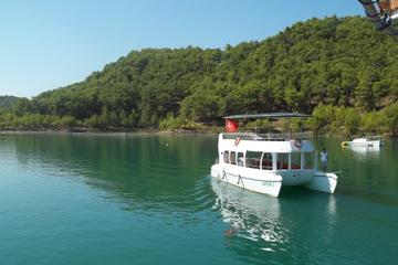 Day Tour by Cabrio Bus and Catamaran Cruise from Side