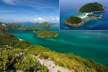 Day Trip to Ang Thong Marine National Park and Koh Nang Yuan Including Snorkeling