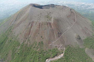 Day Trip to Pompeii and Mt Vesuvius by Boat from Sorrento