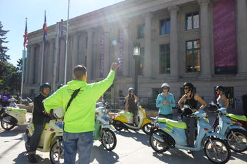 Denver Guided Sightseeing Tour on Motor Scooters